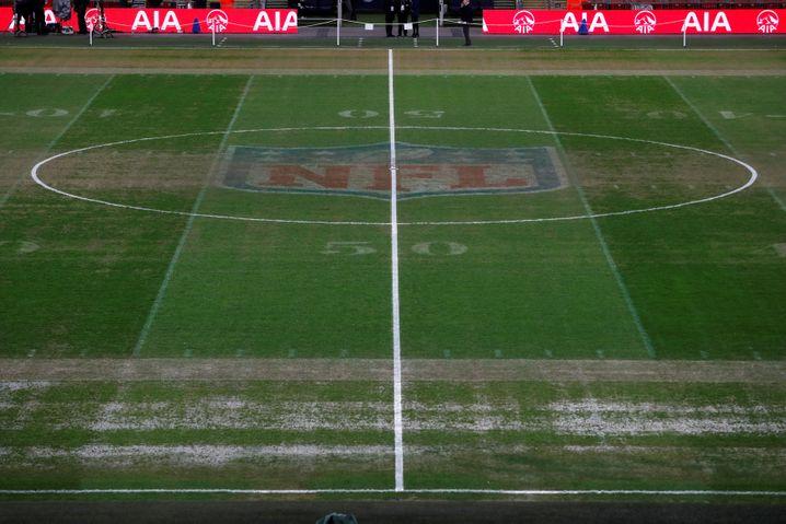 Der Rasen im Wembley-Stadion