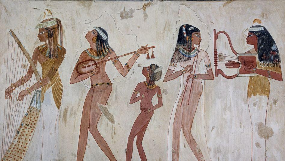 3500 Jahre alte Freske aus Ägypten