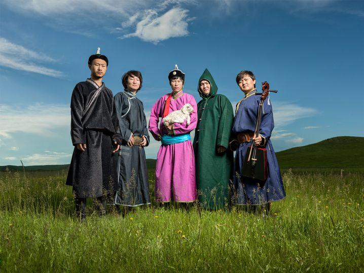 Bandfoto von Nine Treasures aus der Inneren Mongolei