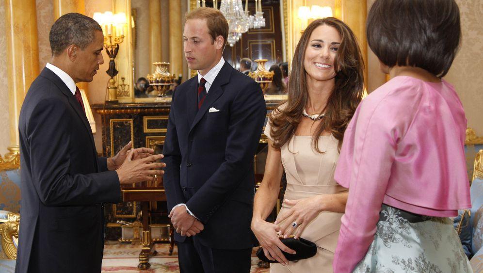 Buckingham Palace: Auftritt Michelle Obama