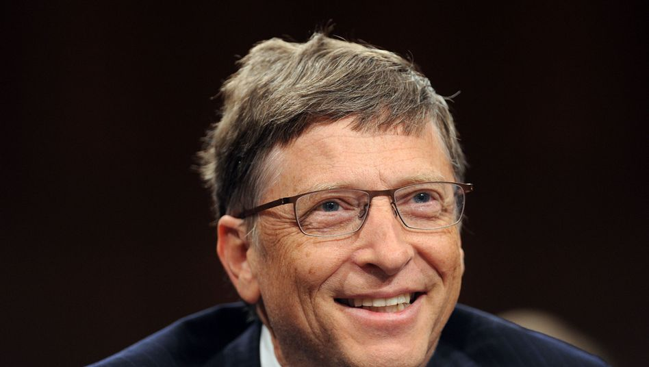 Mircrosoft founder Bill Gates.