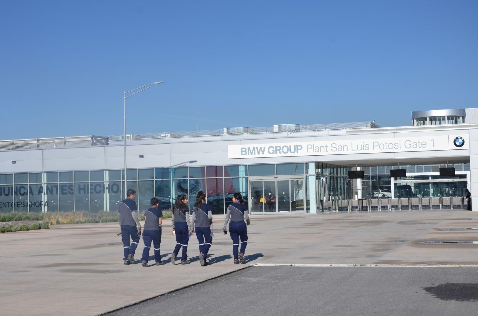 EINMALIGE VERWENDUNG BMW / Werk in Mexiko
