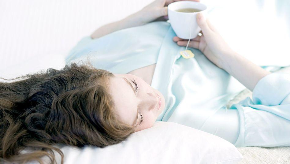 Schön Detox-Tee: Mal richtig entschlacken