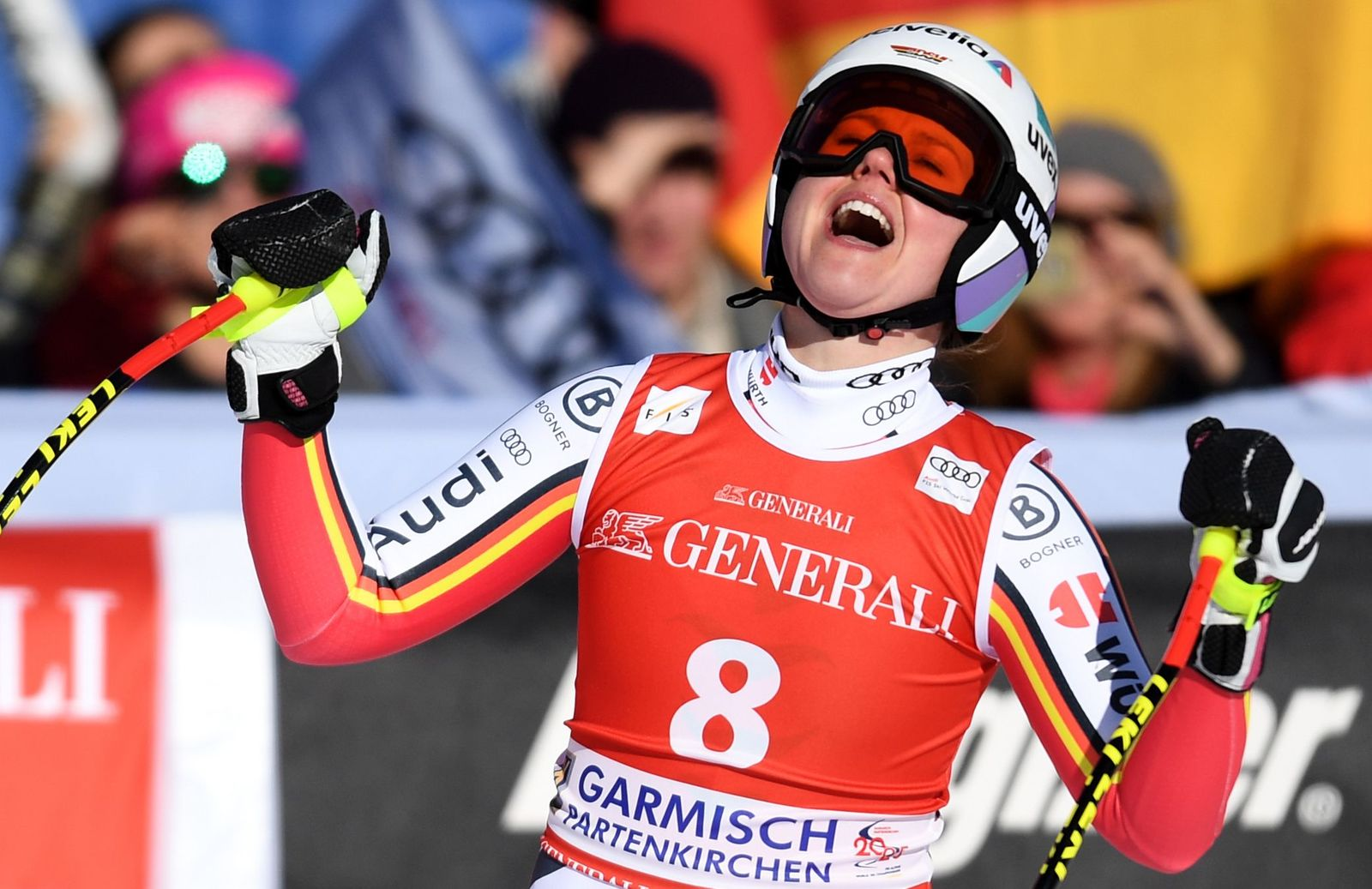 SKI-ALPINE-GER-WCUP-DOWNHILL-WOMEN