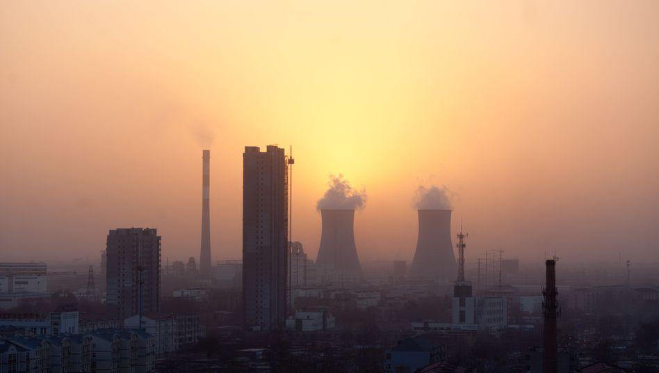 Industrieskyline in China