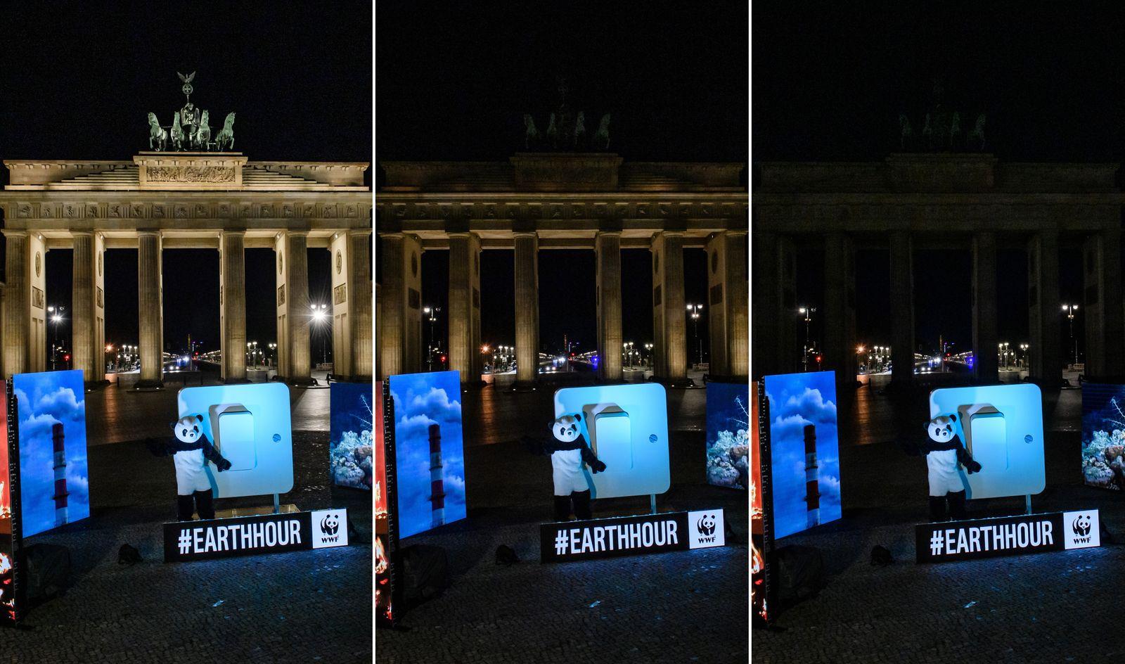 Earth Hour 2021 in Berlin