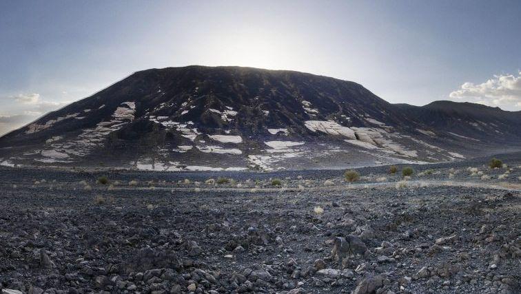 Vulkan Hala al-Badr in Saudi-Arabien