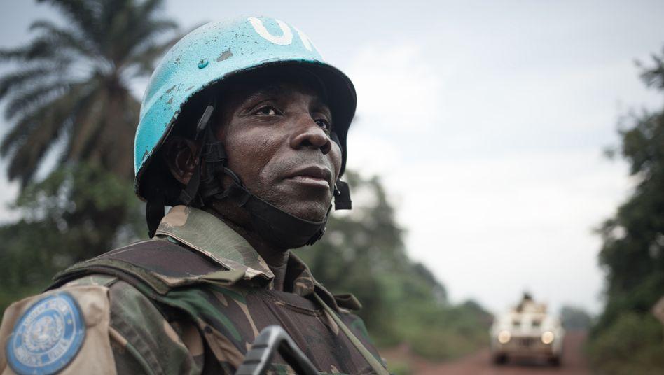 Uno-Truppen in der Zentralafrikanischen Republik