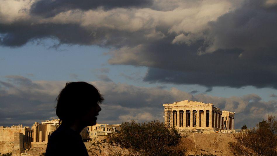 Greece is having trouble raising money on the bond markets.