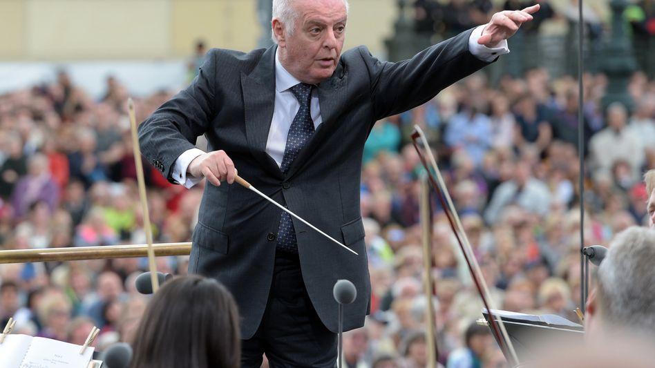 Dirigent Barenboim (in Berlin): Auftritt in Iran geplant