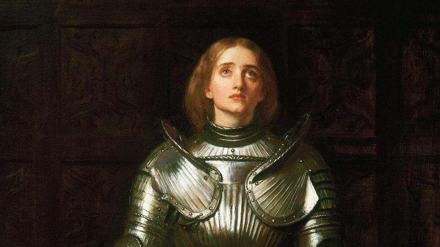 Jeanne d'Arc (Gemälde von John Everett Millais 1865)