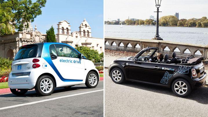 Carsharing-Apps: Geld verdienen mit dem eigenen Auto