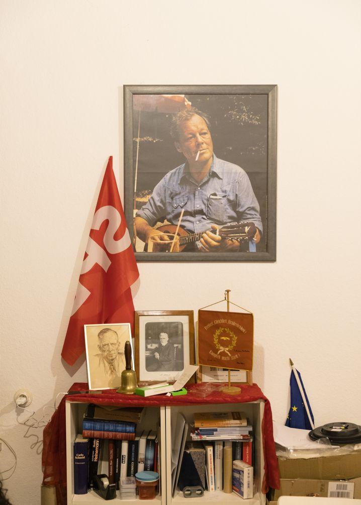 SPD-Glorifizierung bei den Jungsozialisten in Bad Godesberg, die SPIEGEL-Reporter Ulrich Fichtner besuchte