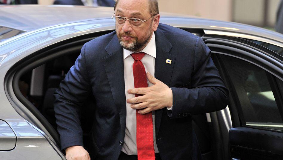 """EU-Parlamentspräsident Martin Schulz: """"Wir reden vom Risiko eines bewaffneten Konflikts"""""""