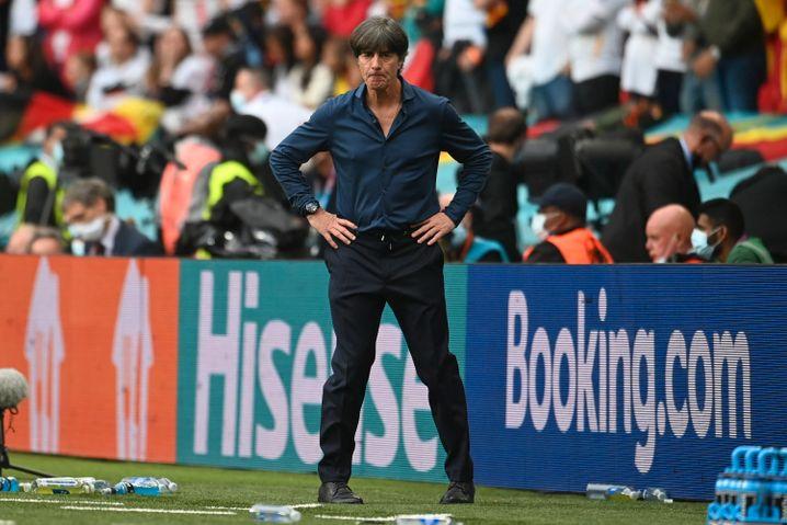 Nationaltrainer Löw im Londoner Wembley-Stadion
