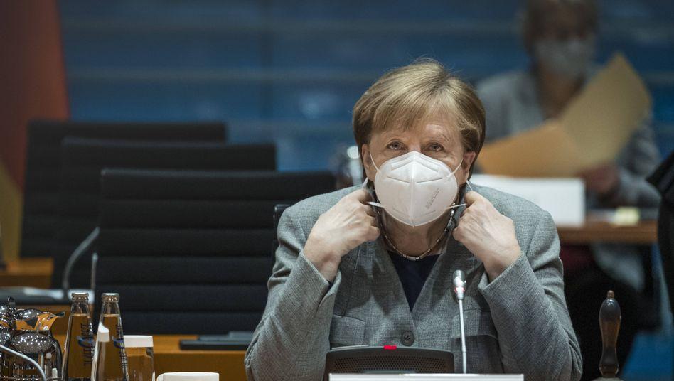 Kanzlerin Merkel: »Müssen jetzt Schritt für Schritt vorankommen«
