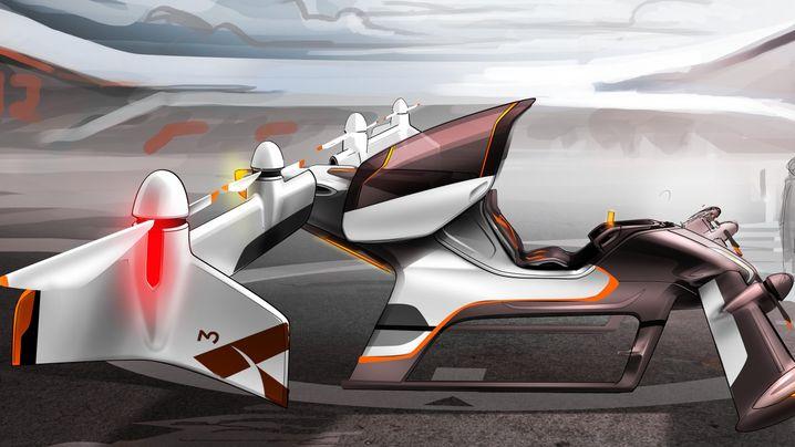 Fliegende Autos: Über den Wolken