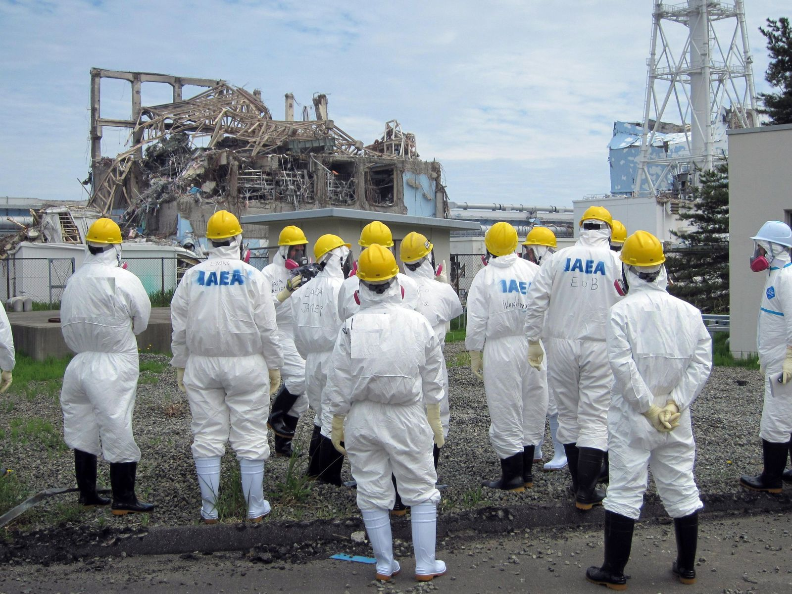 IAEA-Inspektoren Fukushima