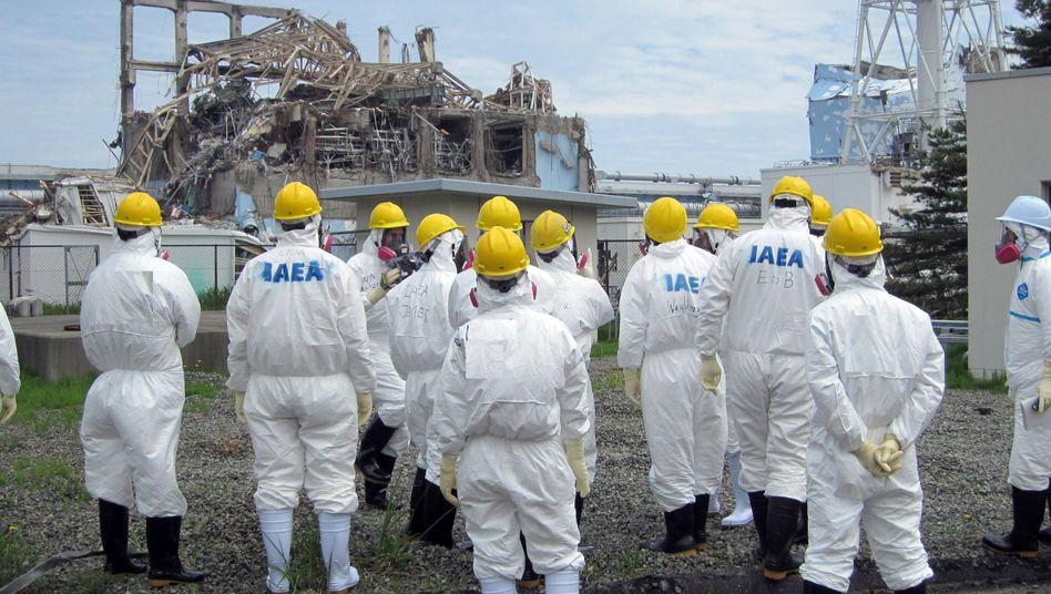 """Inspektoren am AKW Fukushima: """"Größere Verzögerung der Arbeit"""""""