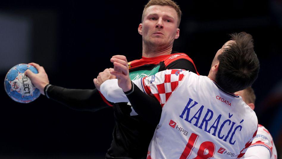 Handball-EM: Deutschland verspielt Führung gegen Kroatien