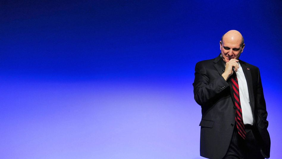 Microsoft-Chef Steve Ballmer: Der Konzern führt bei US-Lobbyausgaben, Google holt auf