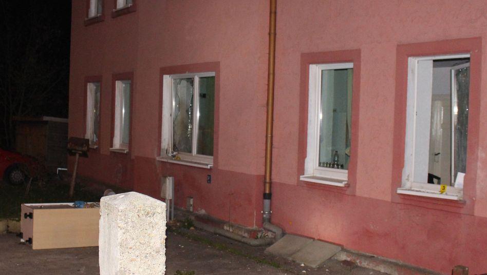 Anschlag auf Wohnung von Asylbewerbern in Freital im November 2015