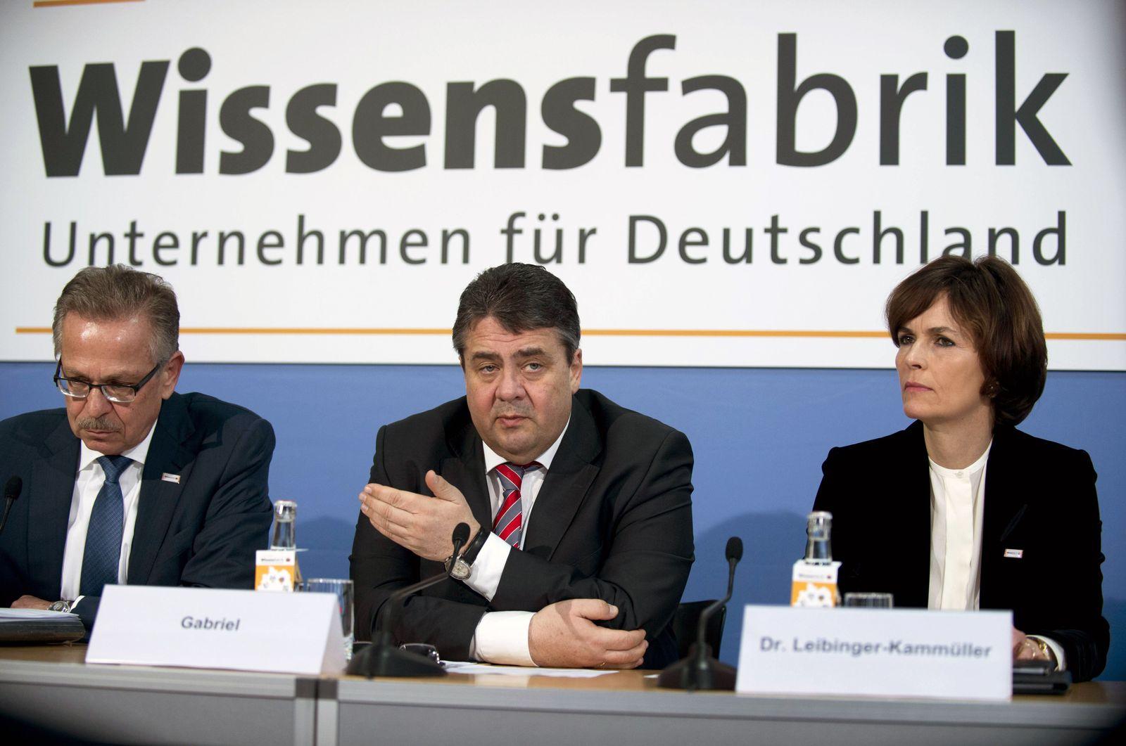 EINMALIGE VERWENDUNG Fehrenbach / Gabriel, /Leibinger-Kammueller / Wissensfabrik