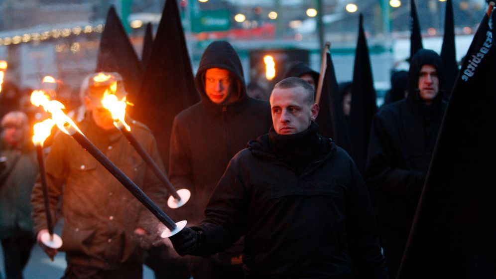 Photo Gallery: Protesting the Neo-Nazis in Dresden