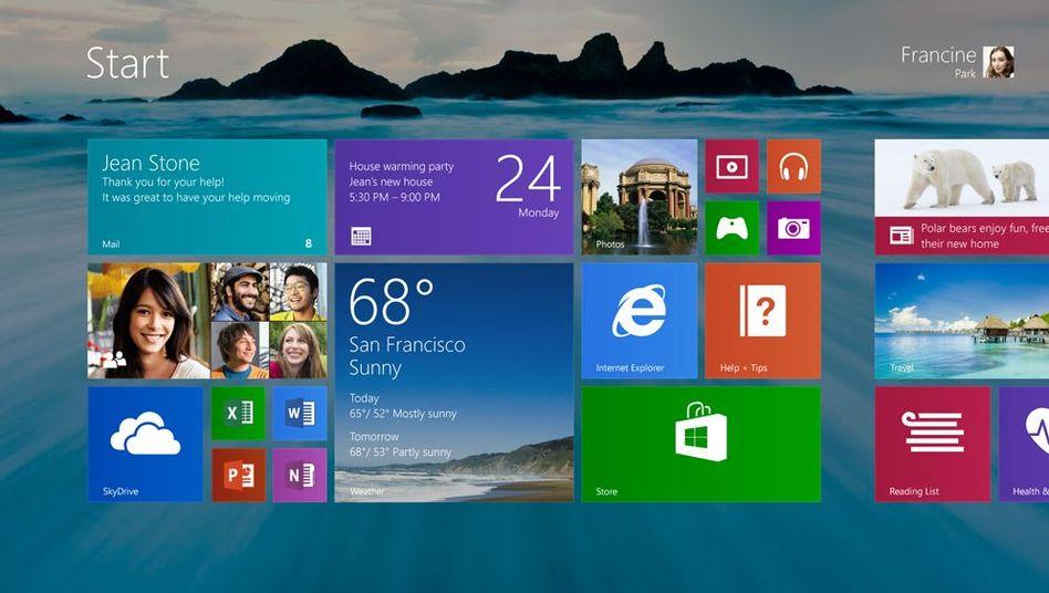 Windows 8.1: Soll bald standardmäßig in den Desktop starten