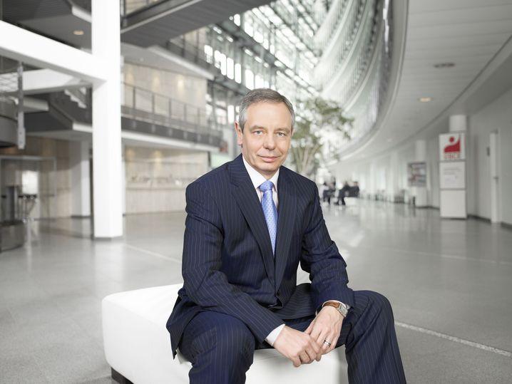 Michael Vassiliadis, Chef der Industriegewerkschaft Bergbau, Chemie, Energie