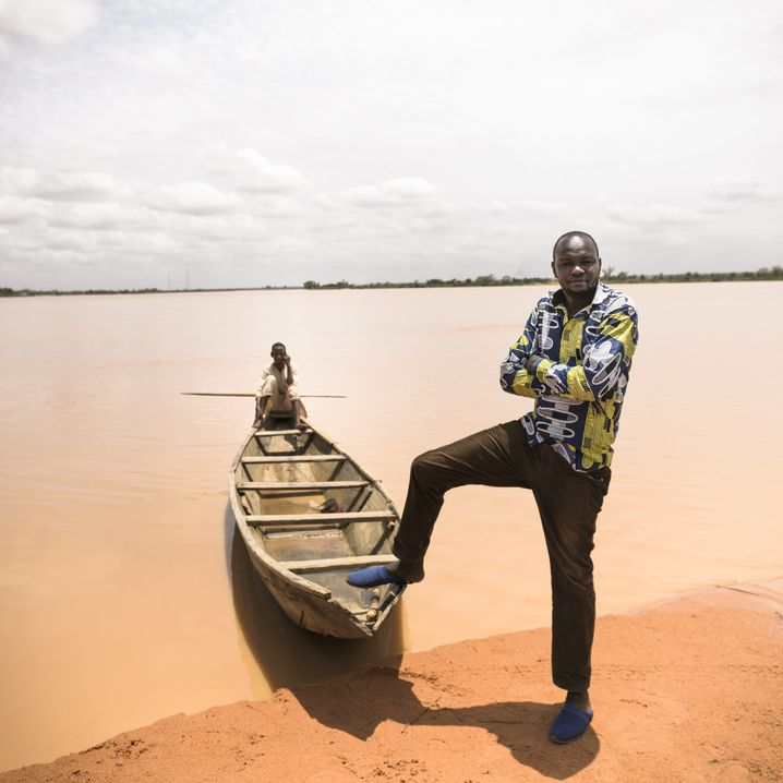 Nigrischer Fahrer Boukary: Von Allah kam bisher auch nicht viel