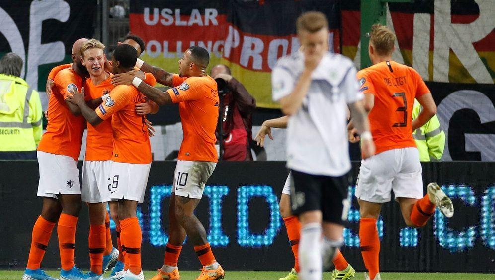 DFB-Pleite in der EM-Qualifikation: Niederlage gegen die Niederlande