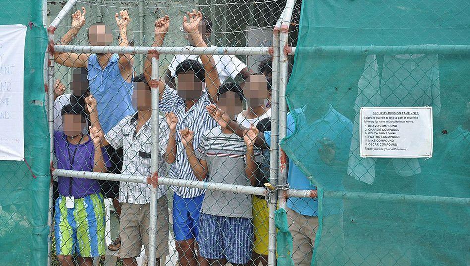 Flüchtlingslager auf Manus
