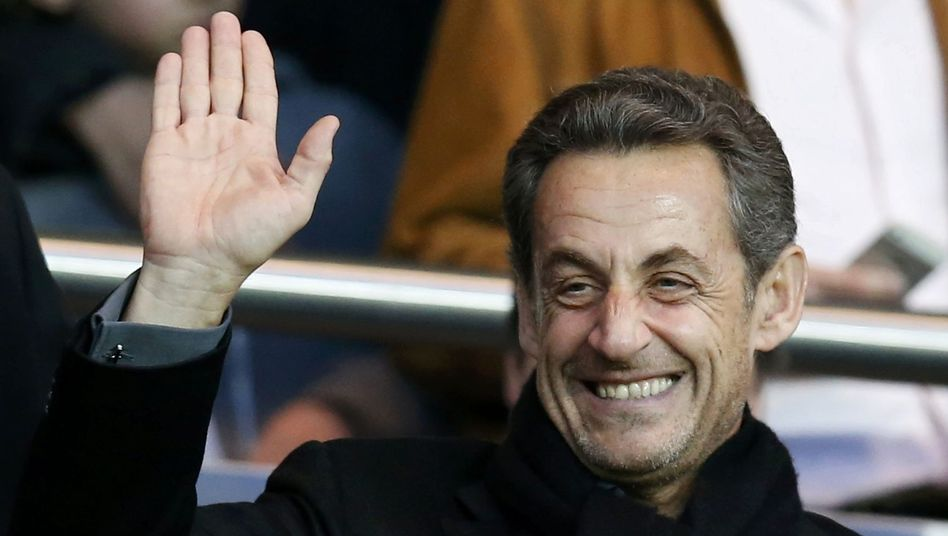 """""""A president has to be very careful not to divide the country,"""" says former French President Nicolas Sarkozy."""