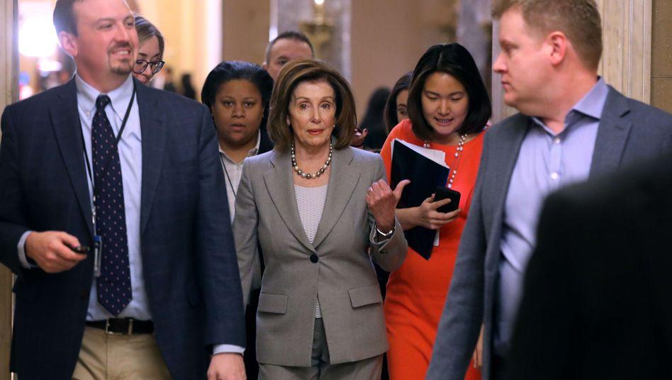 Will Amtsenthebungsverfahren gegen Donald Trump vorantreiben: US-Demokratin Nancy Pelosi