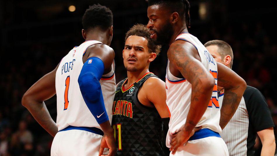 Trae Young wurde 2018 gedraftet, in der Nacht von Sonntag auf Montag spielt er erstmals im NBA-All-Star-Game