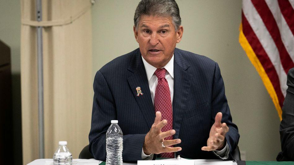 Joe Manchin war von 2005 bis 2010 Gouverneur von West Virginia