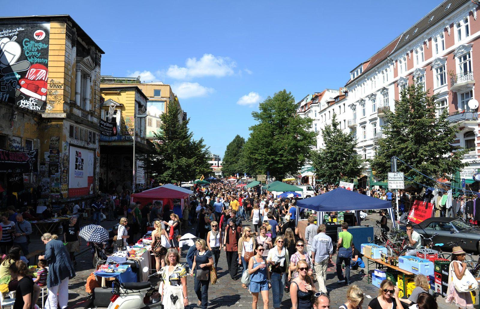 Schanzenfest/ Schnazenviertel/ Schulterblatt
