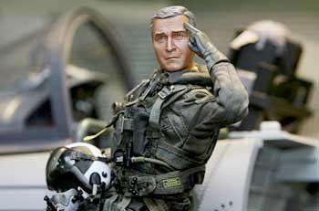Sorgt für eine Menge Wirbel: Miniaturpuppe von US-Präsident George W. Bush