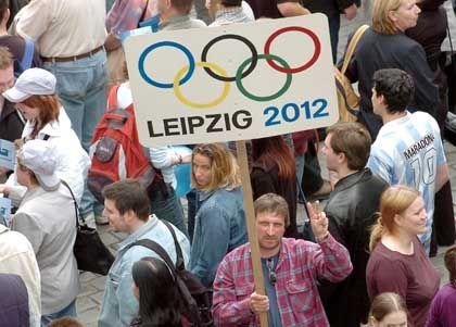 Enttäuschte Hoffnungen: Olympia 2012 wird nicht in Leipzig stattfinden