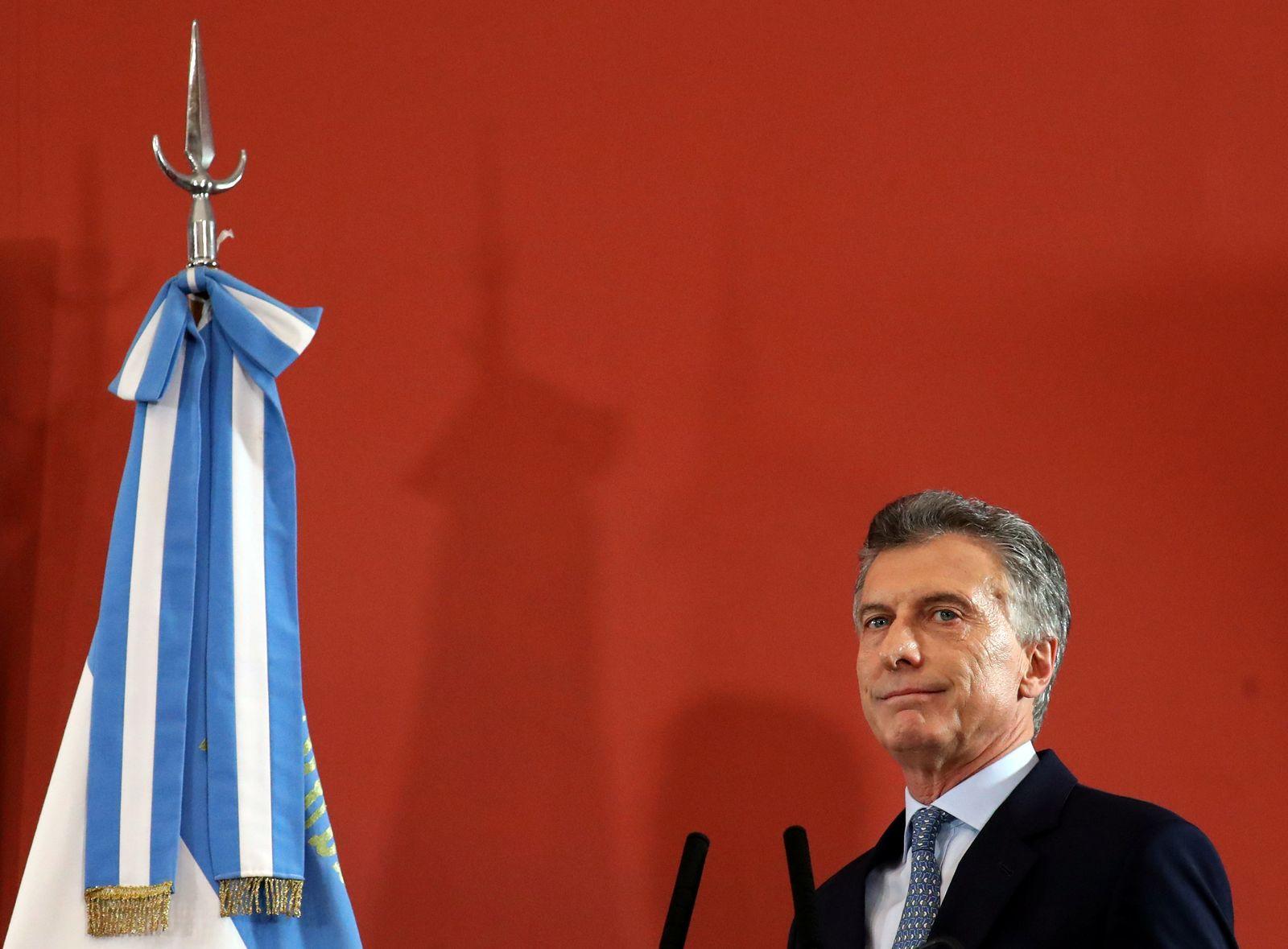 ARGENTINA-ECONOMY/MACRI