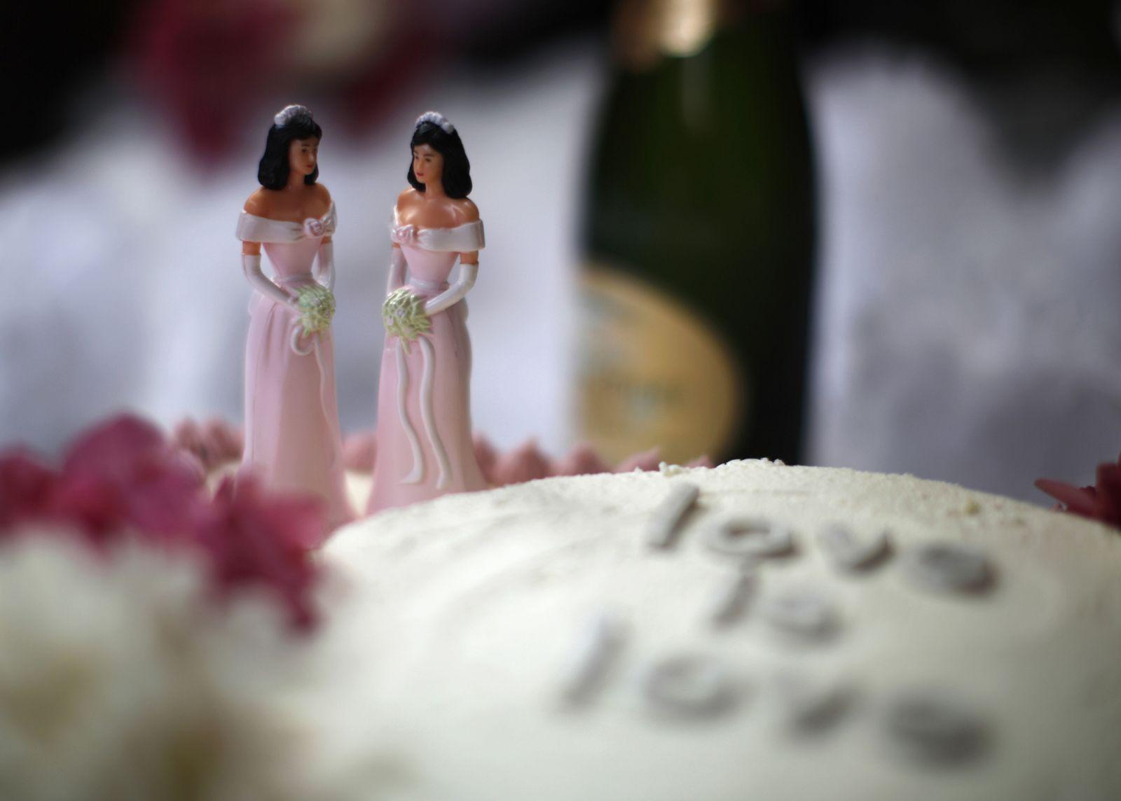 Gleichgeschlechtliche Ehe/ Symbolbild/