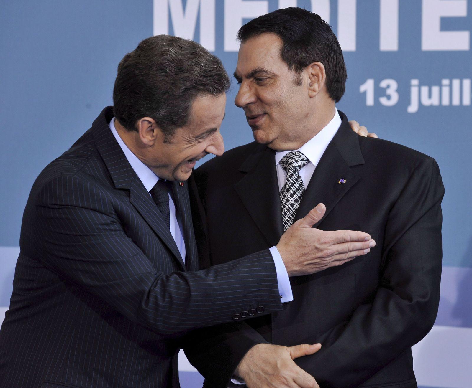 Nicolas Sarkozy / Ben Ali
