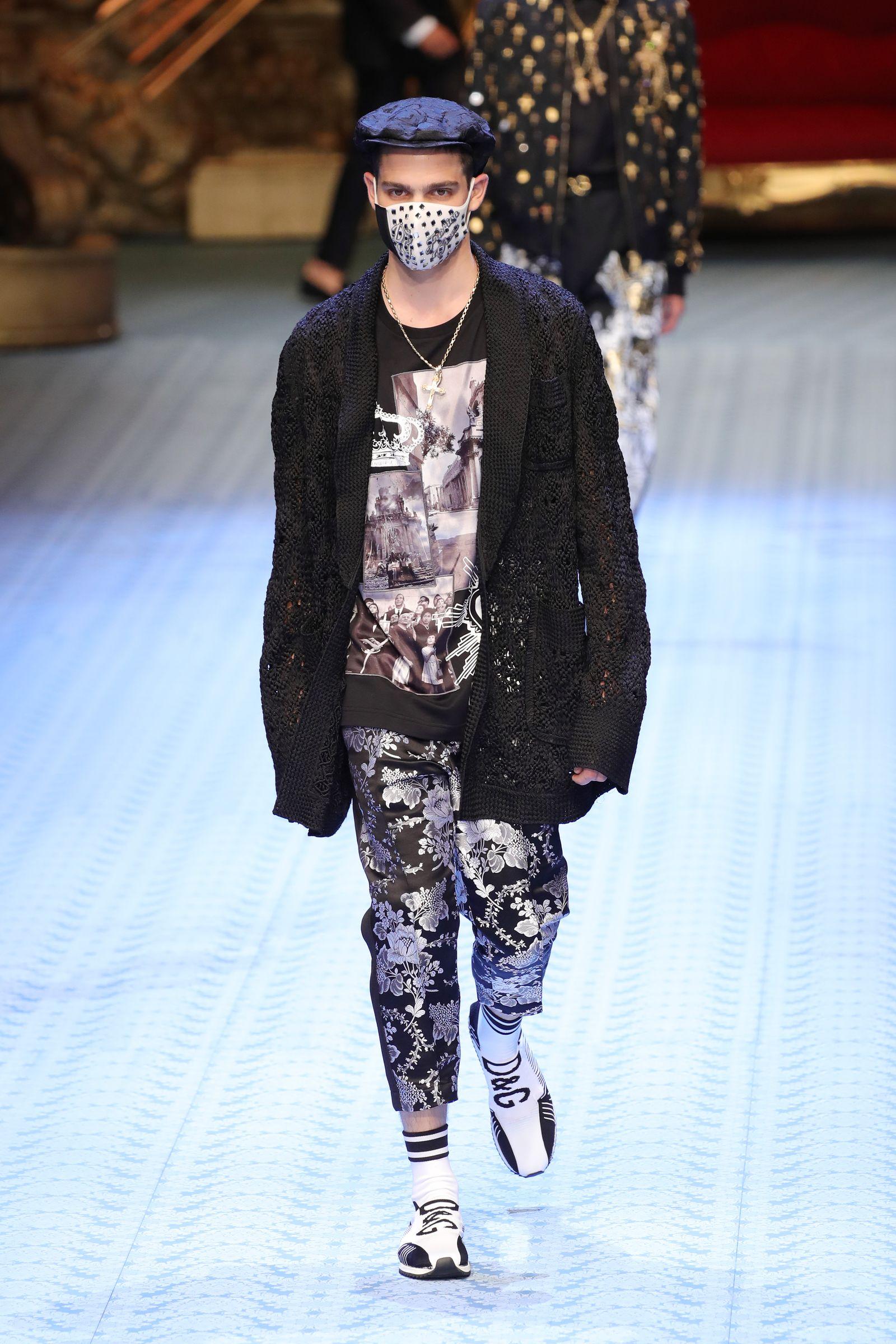 Dolce & Gabbana - Runway - Milan Men's Fashion Week Spring/Summer 2019