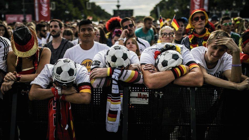 Enttäuschte Fans in Berlin