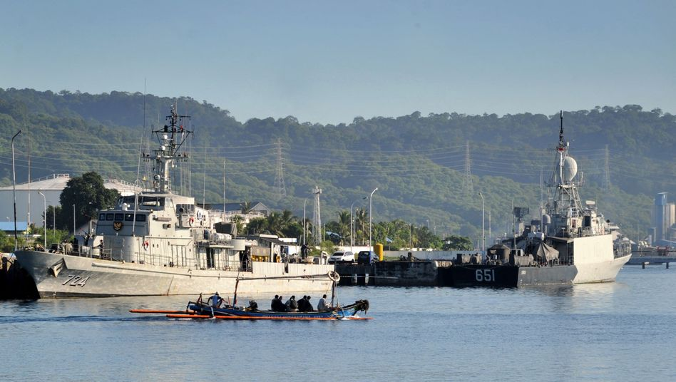 Suche nach dem vermissten U-Boot vor Indonesiens Küste