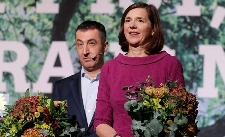Cem Özdemir und Katrin Göring-Eckardt: Die Kampfkandidatur kam überraschend