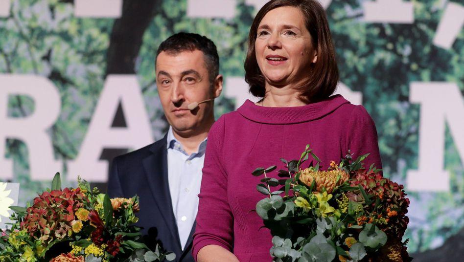 Katrin Göring-Eckardt und Cem Özdemir (Archivfoto)