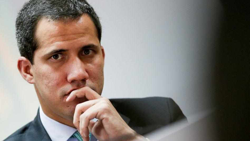 Parlamentspräsident Venezolas Juan Guaidó: Venezuela erlebt seit Jahren einen humanitären Notstand