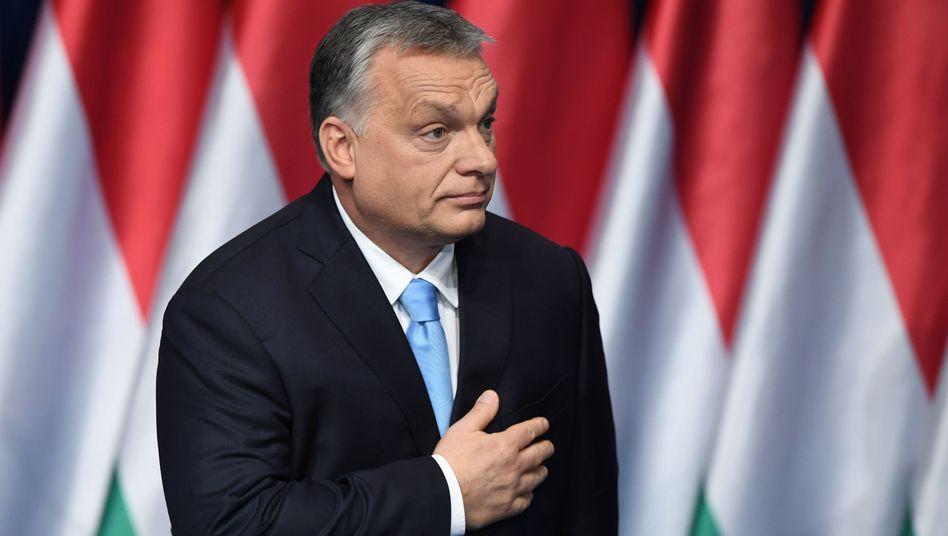 Ungarns Ministerpräsident und Fidesz-Chef Viktor Orbán